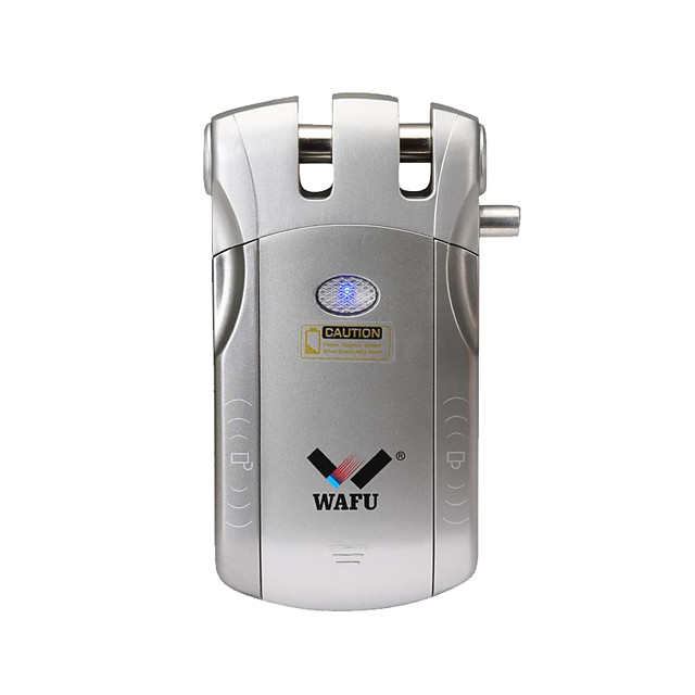 WAFU WIFI Remote Control Smart Invisible Security Door Lock App(iOS/Android System) Anti-theft Door Lock for Home Hotel Office Apartment with 433Mhz(WF-010W)