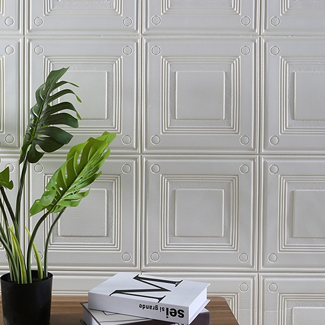 Wallpaper Acetate Wall Covering - Self adhesive Solid Colored