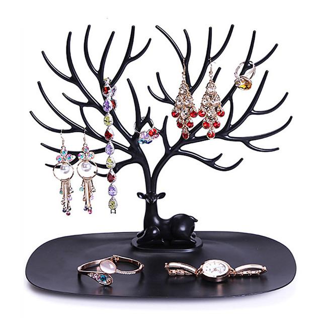 storage rack creative tree shaped foldable multifunctional jewelry rack