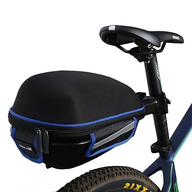 Zipper Bike Bag Bike Handlebar Bag Durable Net Waterproof Cycling Equipment SH