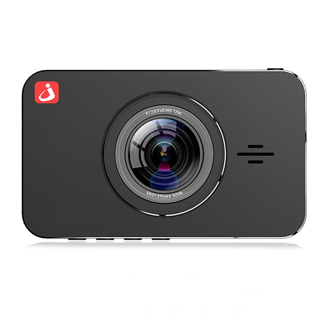 Junsun H9P 1296P HD Boot Automatic recording Car DVR 170 Degree Wide Angle Omnivision OV 4689 3 inch IPS Dash Cam with Night Vision/G-Sensor/Motion detection 4 infrared LEDs