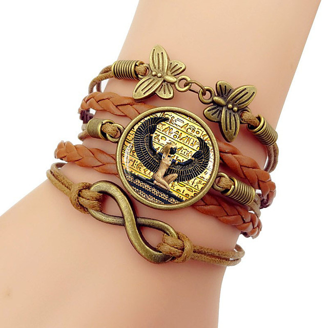 Wrap Bracelet Cosplay Costume Ancient Egypt Alloy For Cleopatra Cosplay Halloween Carnival Women's Costume Jewelry Fashion Jewelry / Bracelets