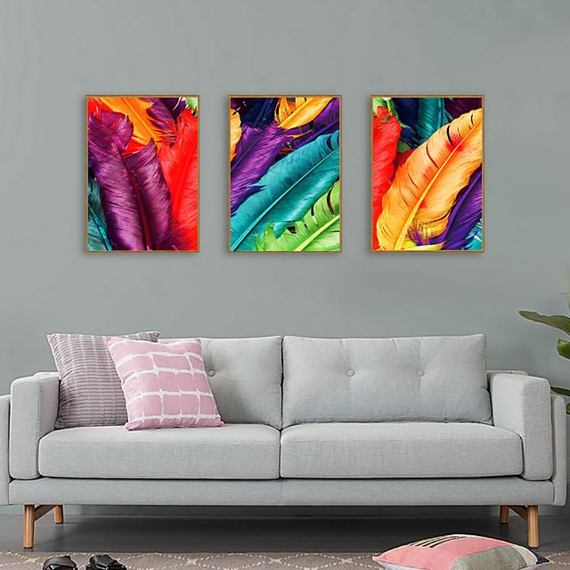 Framed Art Print Framed Set - Still Life Pop Art PS Illustration Wall Art