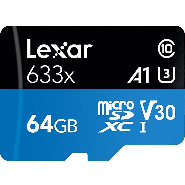 Lexar 64GB Micro SD / TF Memory Card Class10 95MB/s Mobile phone