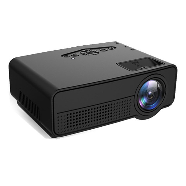 Factory OEM H60 DLP Home Theater Projector LED Projector 80 lm Support 1080P (1920x1080) 25-70 inch Screen