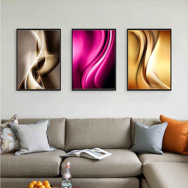 Framed Art Print Framed Set - Abstract Pop Art PS Illustration Wall Art