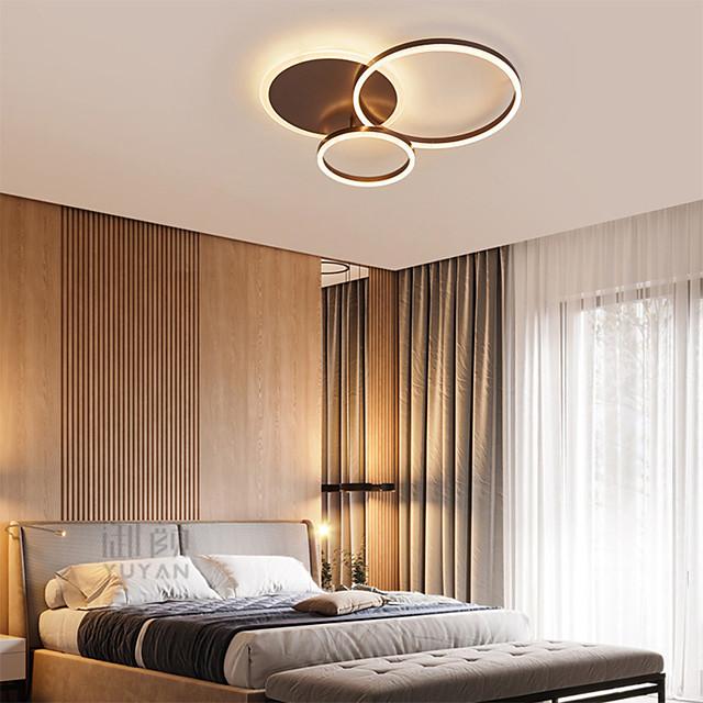 1-Light 50 cm Flush Mount Lights Aluminum Novelty Artistic / LED 110-120V / 220-240V