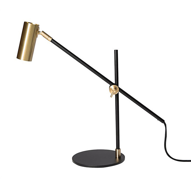 Desk Lamp Reading Light Creative Simple Modern Contemporary Nordic Style For Living Room Study Room Office Metal 110-120V 220-240V Black