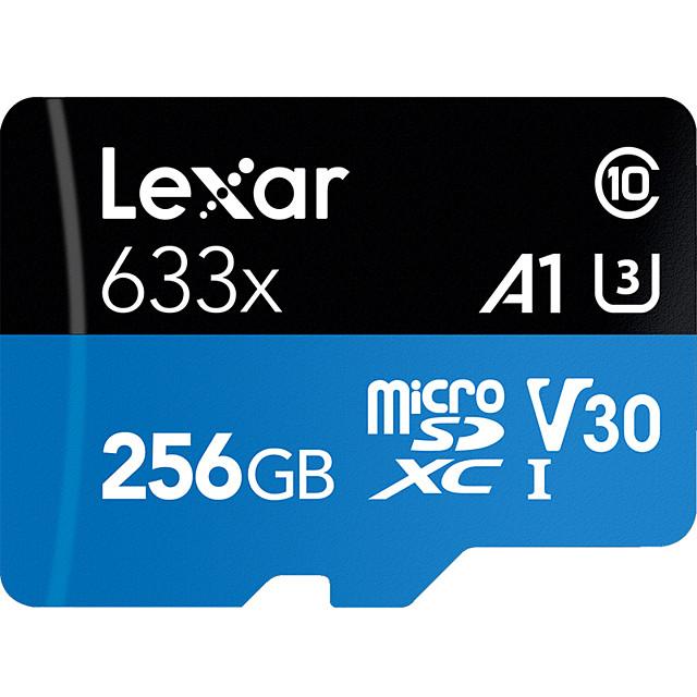 Lexar 256GB Micro SD / TF Memory Card Class10 95MB/s Mobile phone