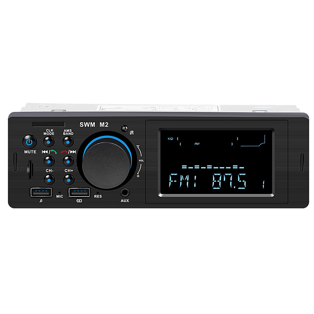 SWM S1 4.1 inch 1 DIN Other OS Car MP3 Player Micro USB / MP3 / Built-in Bluetooth for Volkswagen / Isuzu / universal RCA Support MP3 / WMA / APE / Remote Control / RC / Radio / TF Card