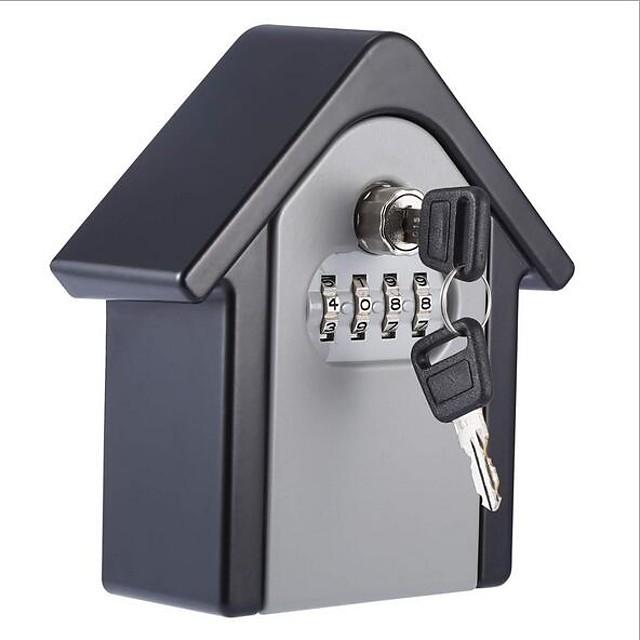 G6 Zinc Alloy Password lock Smart Home Security System Intercom / Password unlocking / Low battery reminder Home / Office Security Door (Unlocking Mode Password / Mechanical key)
