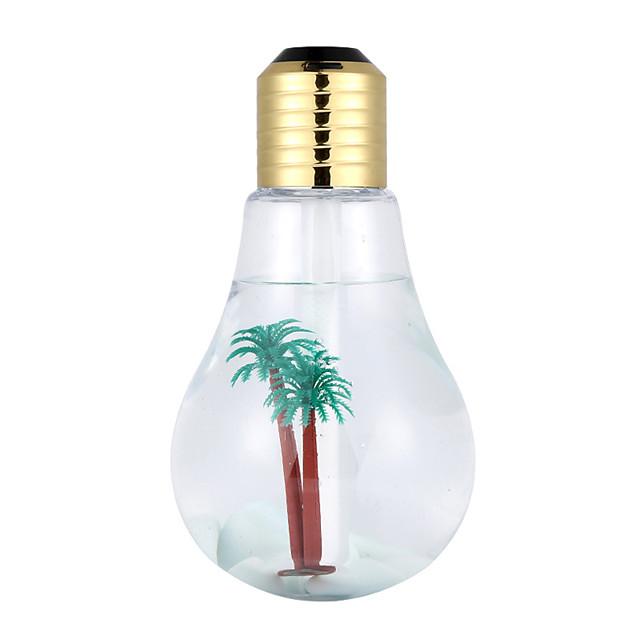 Bulb Humidifier USB Office Bedroom Air Purifier