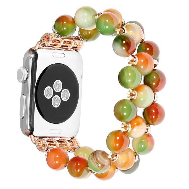 Watch Band for Apple Watch Series 6 / SE / 5/4 44mm / Apple Watch Series 6 / SE / 5/4 40mm / Apple Watch Series 3/2/1 38mm Apple Jewelry Design PC Wrist Strap