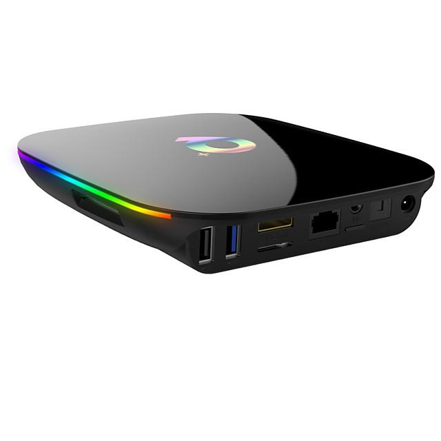 Smart TV Box Android 9.0 TV Box 4GB Ram 64GB Rom 6K H.265 USB3.0 Netflix Allwinner QPlus
