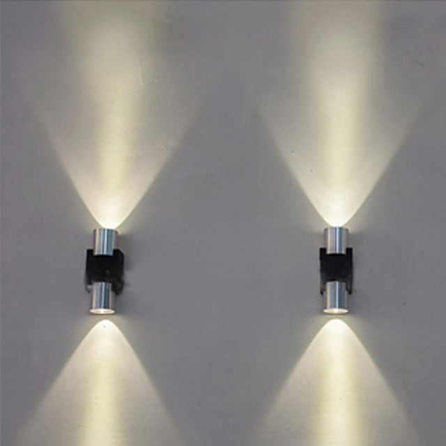 Creative / Cool Simple / Modern Contemporary Wall Lamps & Sconces / Flush Mount wall Lights Living Room / Shops / Cafes Metal Wall Light IP44 AC100-240V 1 W