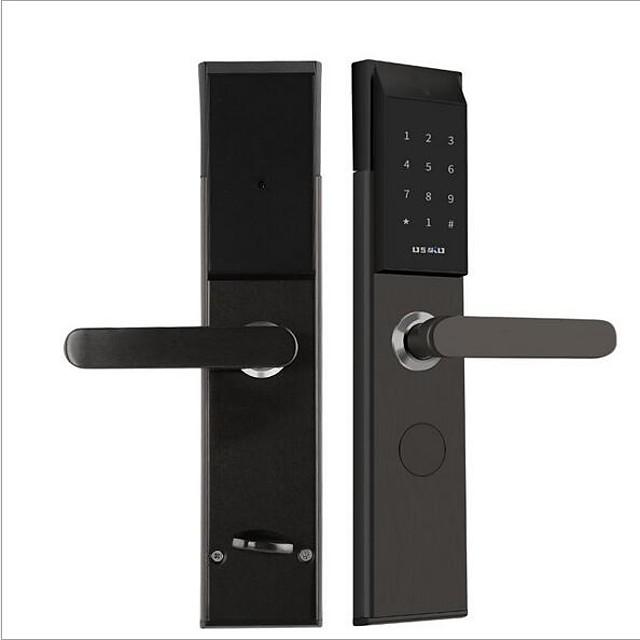 Factory OEM 813 Aluminium alloy Remote Lock / Intelligent Lock / Card Lock Smart Home Security System Password unlocking / Mechanical key unlocking / APP unlocking Home / Office Security Door