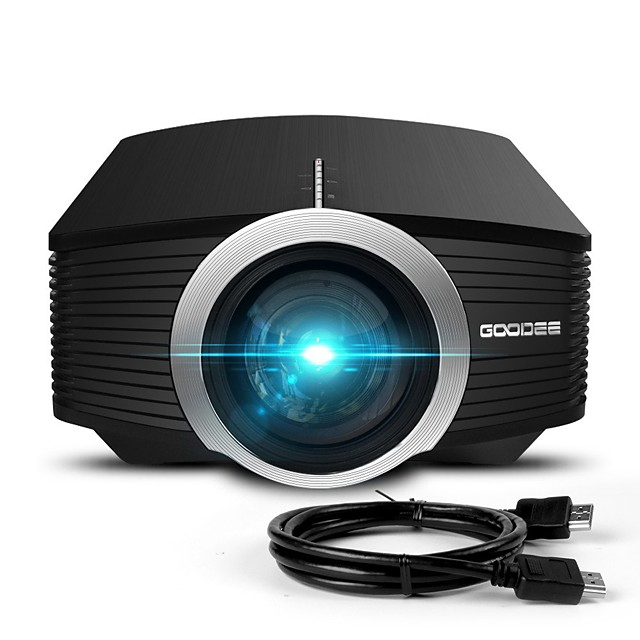 Mini Projector Upgraded in 2018  80% Lumen Video Projector Compatible with Fire TV Bar HDMI VGA USB Home Cinema Film Projector