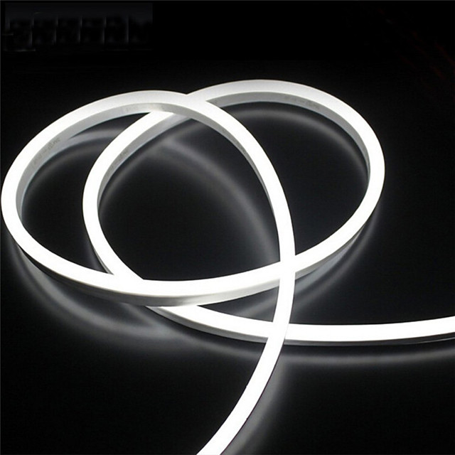 2m 12V Silicone LED Neon Rope Lights Flexible Waterproof Strip Lights for DIY Indoor Outdoor Decorative Signs Letters