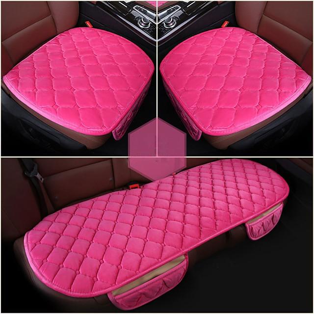 3 Pcs Soft Comfortable Car Cushion Non-slip Breathable 2 Pcs Front Cushion  1 Pcs Rear Cushion