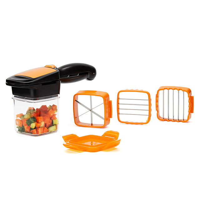 Vegetables Cutter, 5 In 1 Fruits Cutter Chopper Slicer Column Egg Cutter Crusher Perfect for Kitchen Cooking Xmas Premium Year Dinner Party