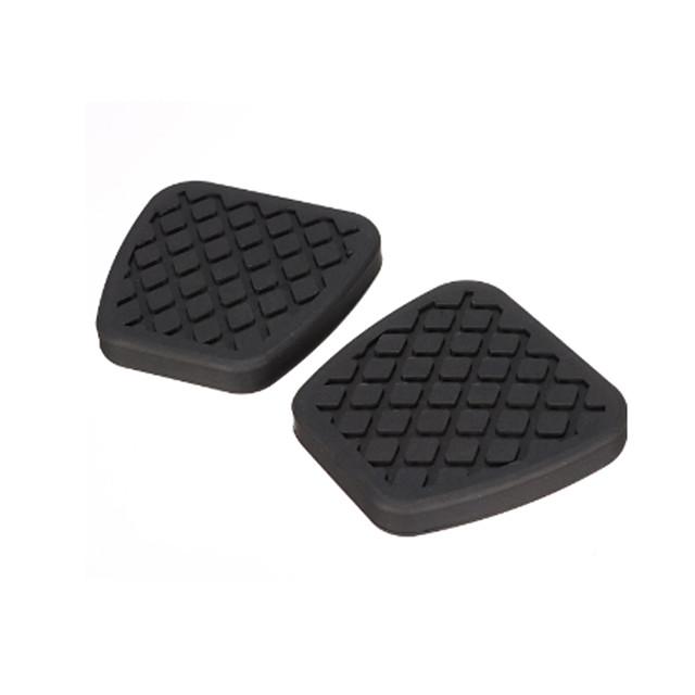 2X Brake Clutch Pedal Pad Rubber Cover For Honda /Civic /Accord /CR-V Prelude /Acura