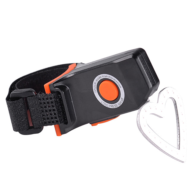 LED Bike Light Rear Bike Tail Light Safety Light Mountain Bike MTB Bicycle Cycling Waterproof Portable Warning Durable Rechargeable Battery 600 lm Built-in Li-Battery Powered USB Red Camping / Hiking
