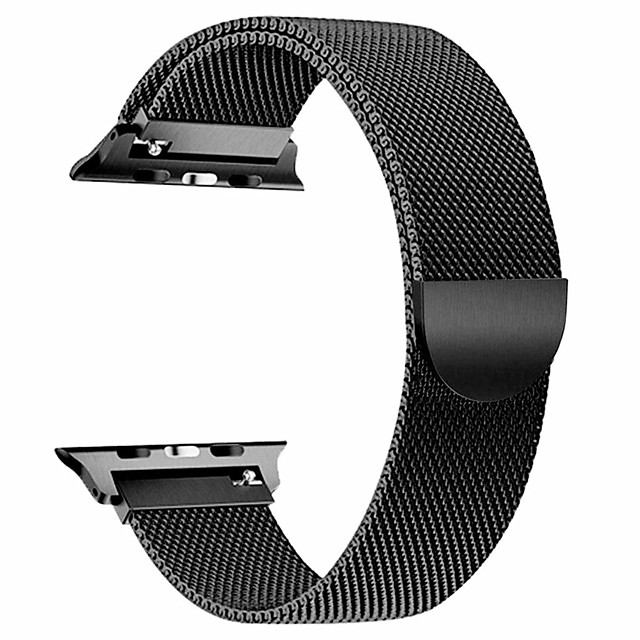 Watch Band for Apple Watch Series 5/4/3/2/1 Apple Milanese Loop Stainless Steel Wrist Strap