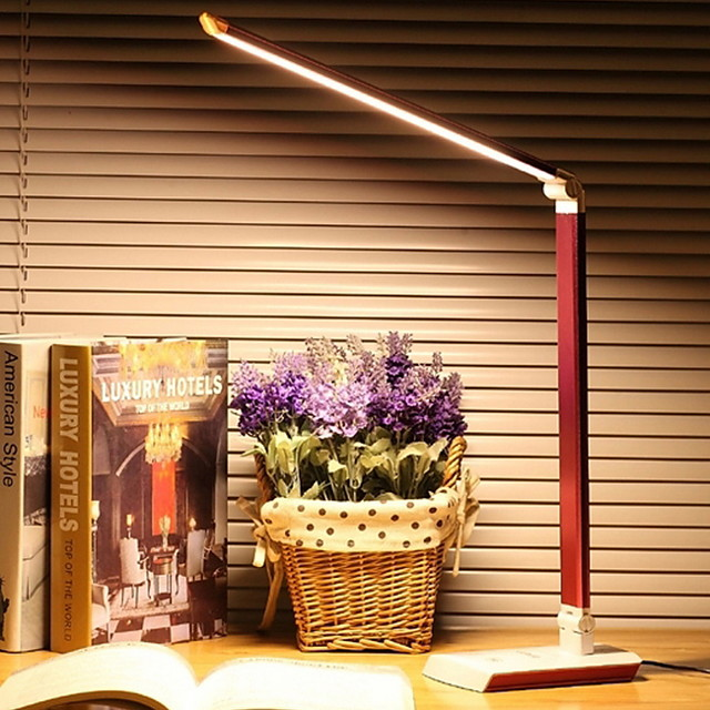 Desk Lamp Modern Contemporary USB Powered For Bedroom Study Room Office Metal 220V