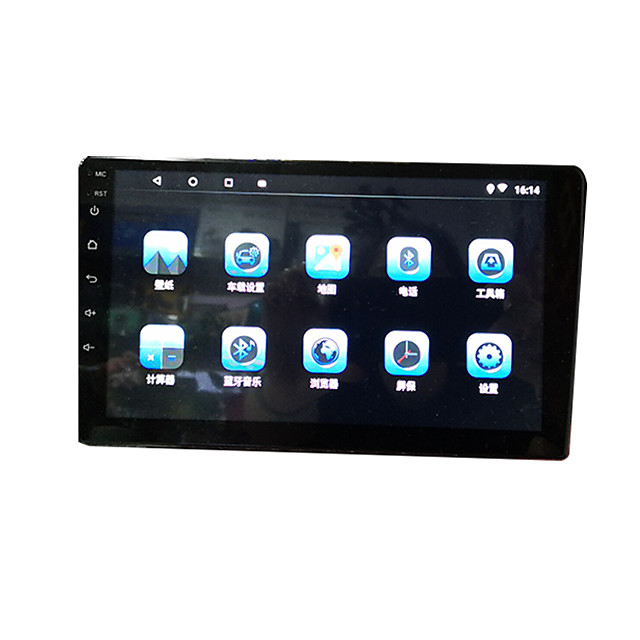 btutz TFT 9 inch 2 DIN Android 8.1 Car GPS Navigator Touch Screen / Built-in Bluetooth / WiFi for universal MicroUSB Support MPEG / AVI / WMV APE JPEG / GIF / BMP / 4G (WCDMA)
