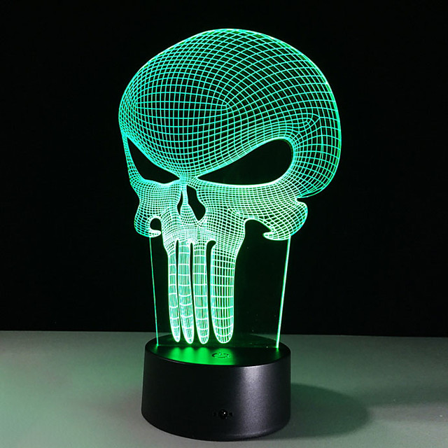 3D Nightlight Creative USB 1pc