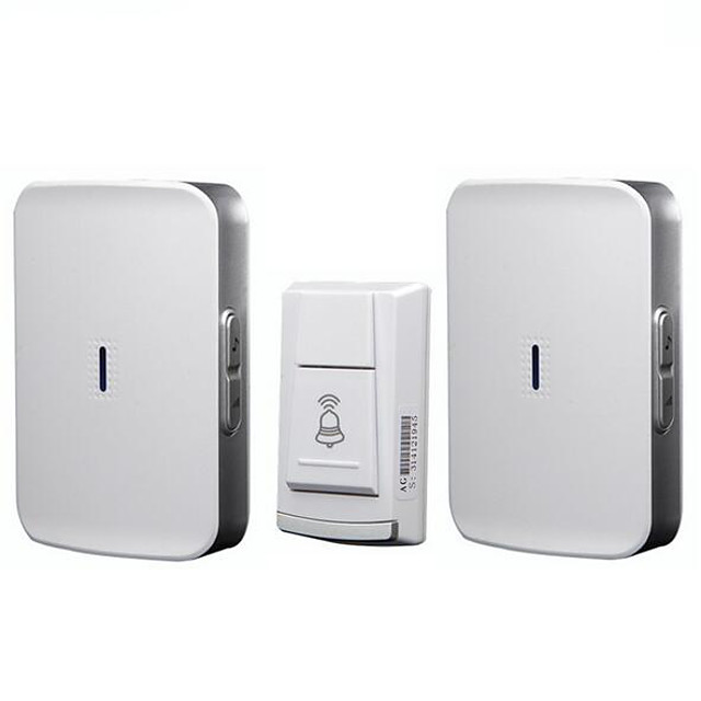 Wireless home doorbell battery type DC one for two full use battery without plugging wireless waterproof doorbell