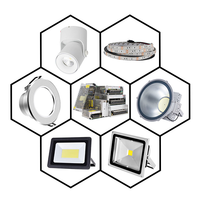 1pc Light Strip Light String Video Monitoring Switching Power Supply Input AC85-265V Output 12V 300W