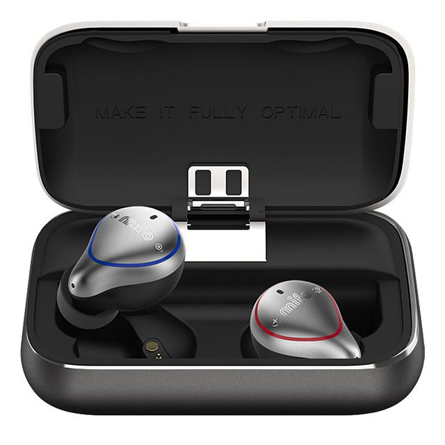 Mifo O5 True Wireless Bluetooth 5.0 In-Ear Earphone With Charging Box Stereo Bass TWS Hi-Fi Sound Sports Earbuds IPX7 Waterproof