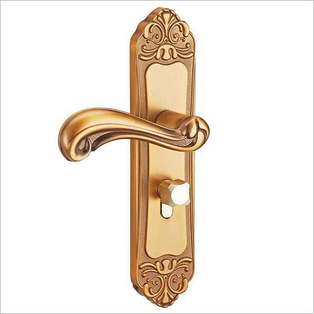 Smart Lock European Style Aluminum Door Lock Indoo Bedroom Door Lock Simple Bathroom Door Handle 7423521 2020 15 74