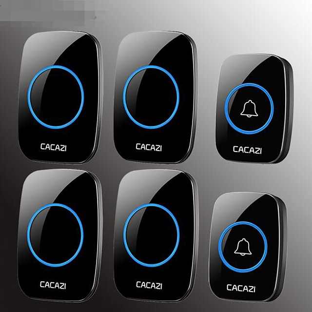 Home wireless doorbell two tow four AC remote remote control electronic doorbell old caller without wires