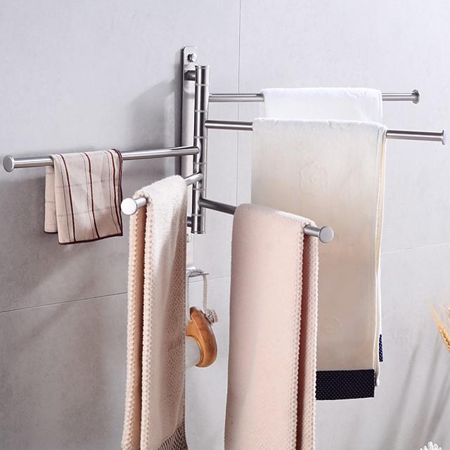 Towel Bar Creative Fun & Whimsical Stainless Steel 1pc - Bathroom / Hotel bath Wall Mounted