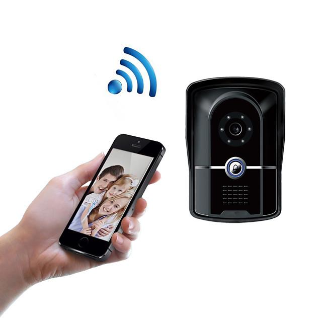 WIFI1001FG WIFI doorbell IP55 waterproof HD 1080P waterproof video doorbell call intercom remote unlock