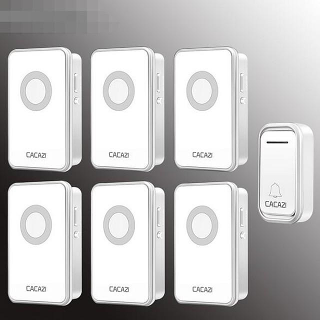 Wireless doorbell two tow five wireless pager intelligent electronic music doorbell home doorbell