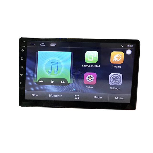btutz TFT 9 inch 2 DIN Android 8.1 Car GPS Navigator Touch Screen / Built-in Bluetooth / WiFi for universal MicroUSB Support MPEG / AVI / WMV FLAC / APE JPEG / GIF / BMP / Quad Core / 4G (WCDMA)