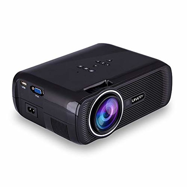 U80 Mini Projector Video Projector (2019 Upgraded) 1080P Supported with 1000 Lumens LED Portable Projector with 20001 Contrast Ratio 200 Display
