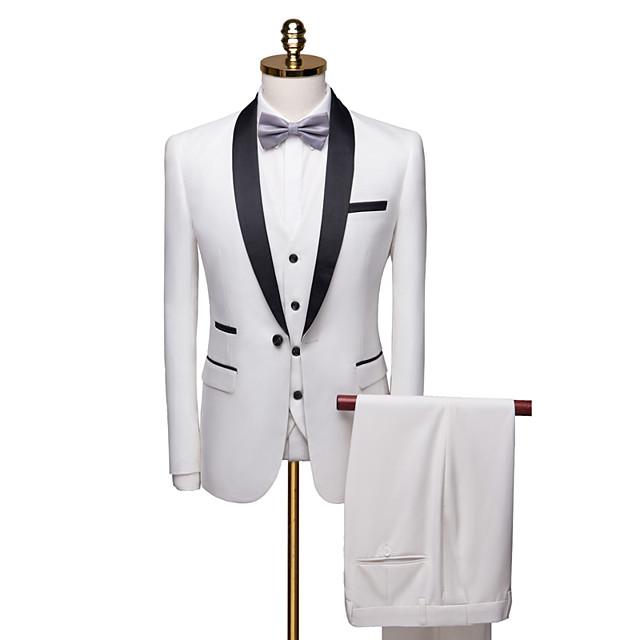 bijeli custom tuxedo