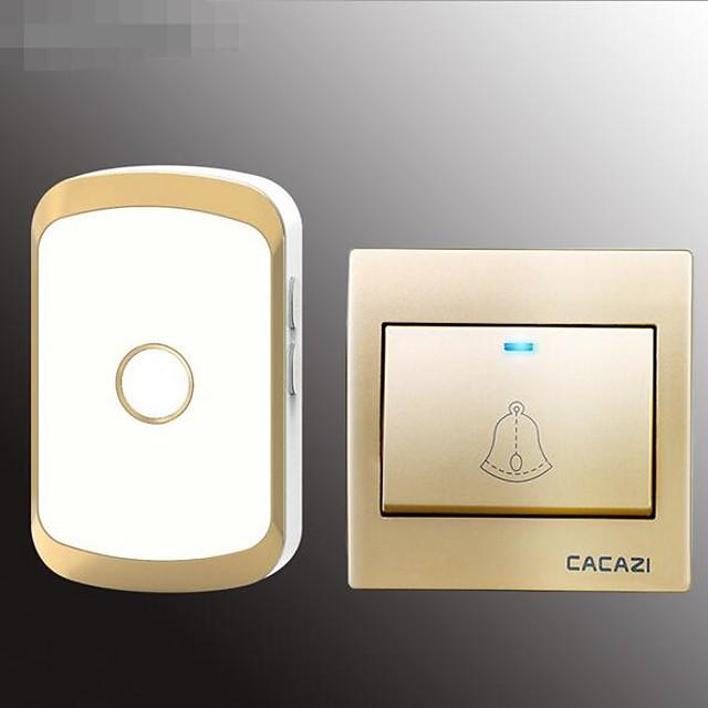 Home Doorbell One For One Wireless Ac Doorbell 86 Box Electronic Doorbell Waterproof Old Caller Board
