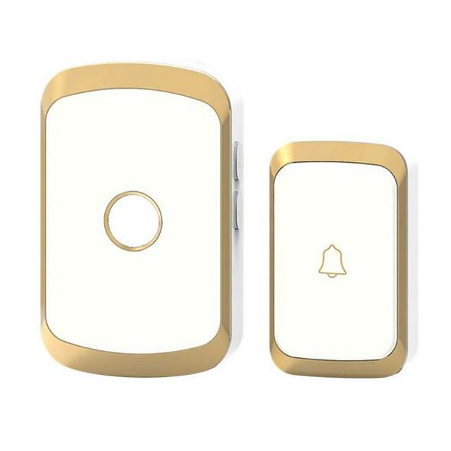 Karjas smart home wireless doorbell exchange digital music doorbell remote remote control home doorbell waterproof