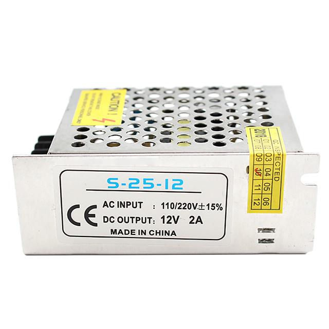1pc Light Strip Light String Video Monitoring Switching Power Supply Input AC85-265V Output 12V 25W