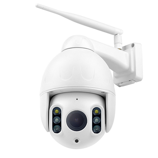 Wanscam K64A 1080P PTZ IP Camera 16X Zoom FHD Face Detection Auto Tracking Dome WiFi Wireless Two-way Audio Colorful Night Vision Motion Detection IP66 Waterproof Remote Access