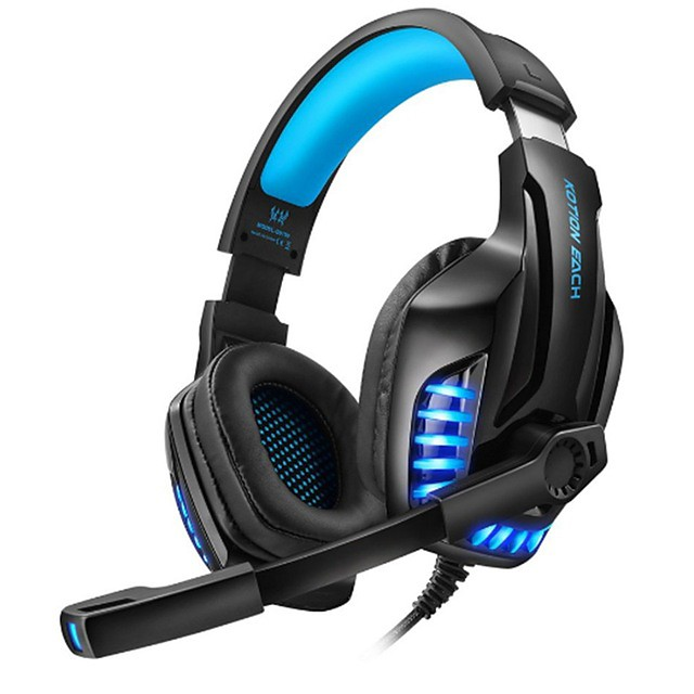 Kotion Each G9100 Headphone 3 5mm Double Terminal Wired Pc Games Headset With Microphone Over The Head Gamers Tool For Pc Laptop 7468483 2020 34 99