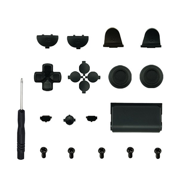 LITBest Game Controller Replacement Part Kits For PS4 / Sony PS4 ,  Game Controller Replacement Part Kits Silicone / PVC(PolyVinyl Chloride) / ABS 1 pcs unit