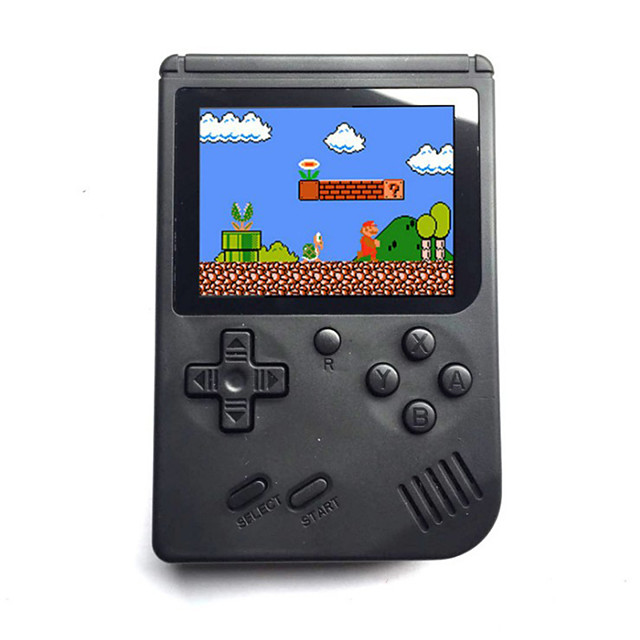 360 Games in 1 Handheld Game Player Game Console Mini Handheld Pocket Portable Built-in Game Card Classic Theme Retro Video Games with 3 inch Screen Kid's Adults' 1 pcs Toy Gift