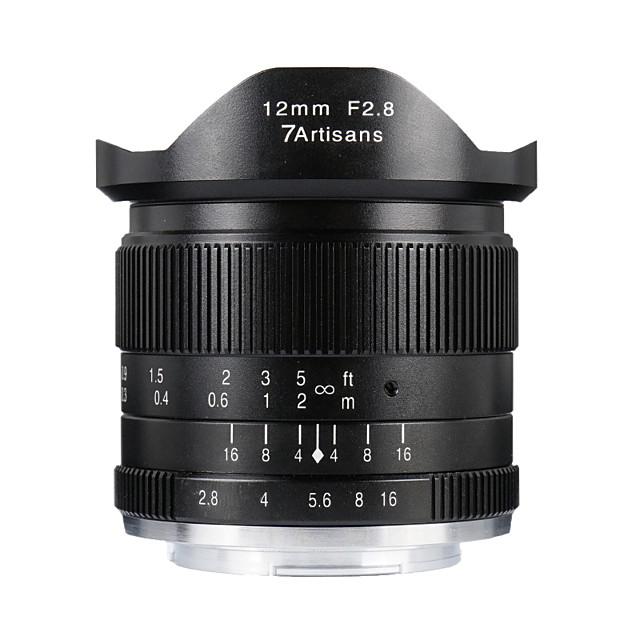 7Artisans Camera Lens 7Artisans 12mmF2.8EOSM-BforCamera