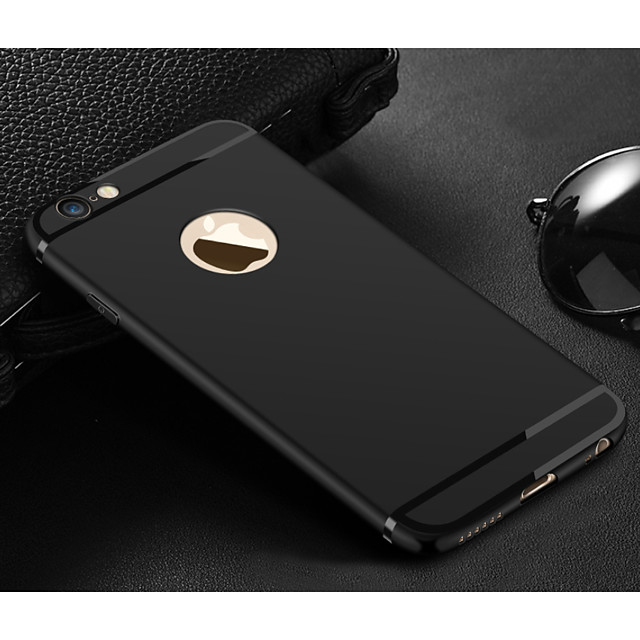 Case For Apple iPhone X / iPhone 7 Plus / iPhone 7 Frosted Back Cover Solid Colored Soft TPU